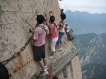 """World's Most Dangerous Hiking Trail on Mount Huashan"""
