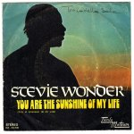 """You Are The Sunshine Of My Life  –  Stevie Wonder"""