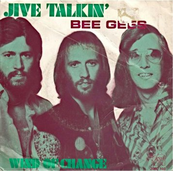 Image result for BEE GEES JIVE TALKIN IMAGES