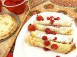Hungarian Crepes: Palacsinta